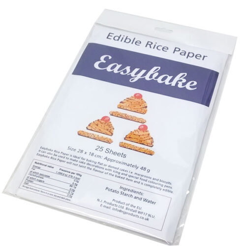 Easybake - Edible Rice Paper