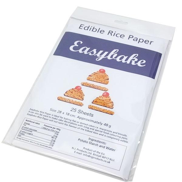 Easybake - Edible Rice Paper