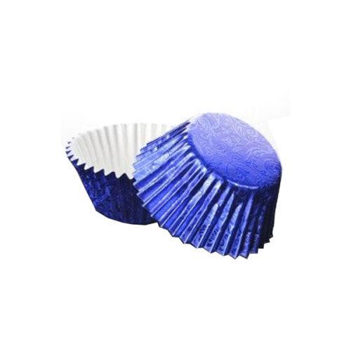 Foilcraft Blue Foil Muffin Cases 24