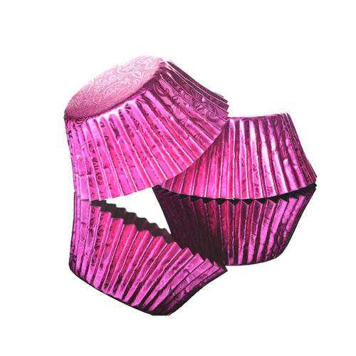 Foilcraft Pink Foil Muffin Cases 24