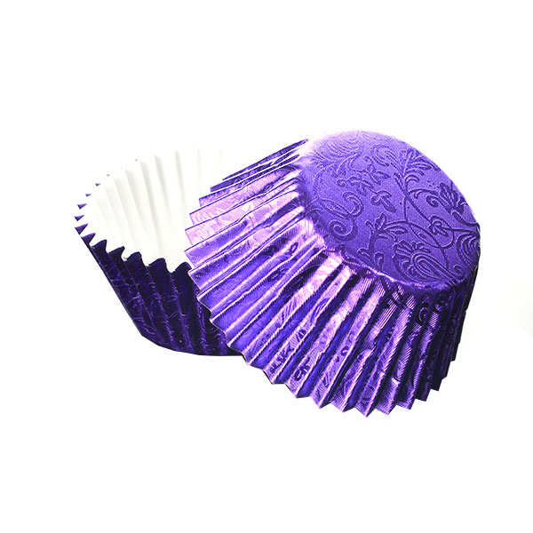 Foilcraft Purple Foil Muffin Cases 24
