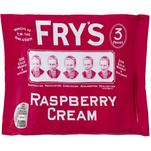 Fry's Raspberry Cream 3 pack