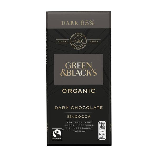 Green & Blacks Dark Chocolate 85%