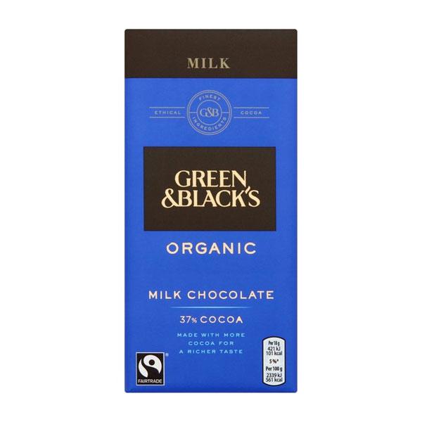 Green & Black's Milk Chocolate 37%