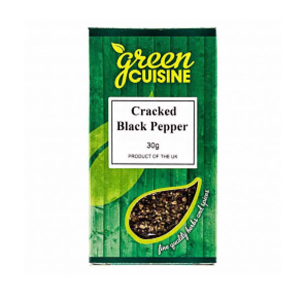 Green Cuisine Cracked Black Pepper