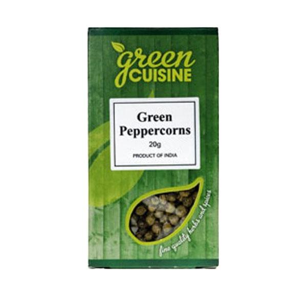 Green Cuisine Green Peppercorns