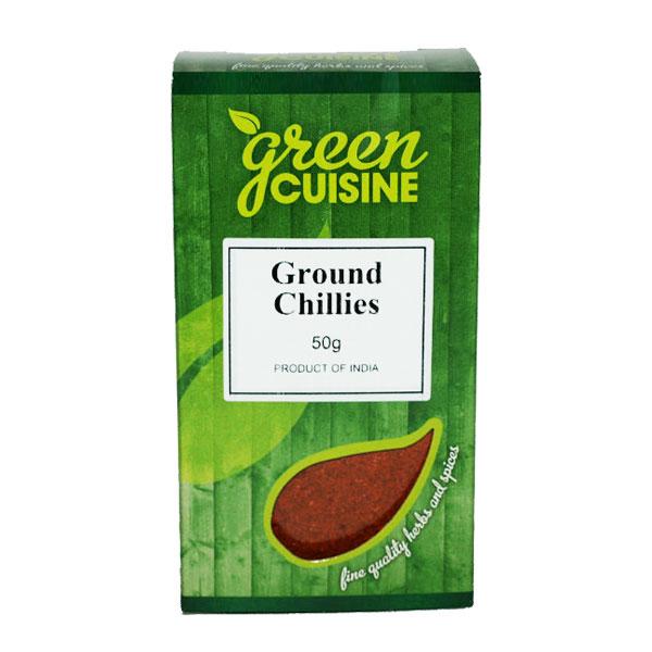 Green Cuisine Ground Chillies