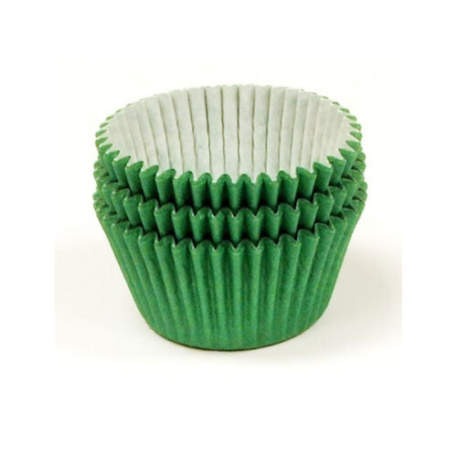 Green Muffin Cases 36