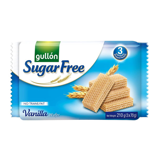 Gullon – Vanilla Wafer- Sugar Free