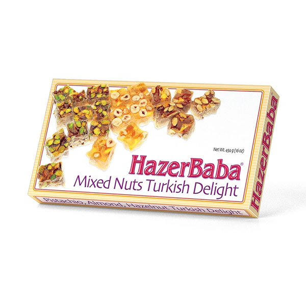 Hazerbaba Mixed Nuts Turkish Delight