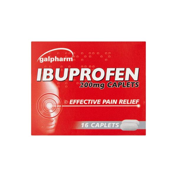 Ibuprofen 200mg Caplets