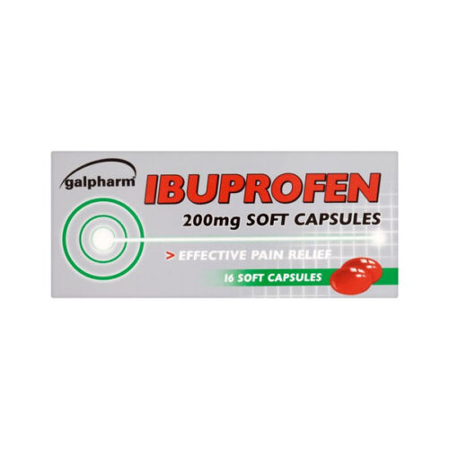 Ibuprofen 200mg Soft Capsules
