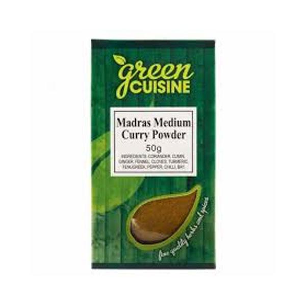 Green Cuisine Madras Medium Curry Powder