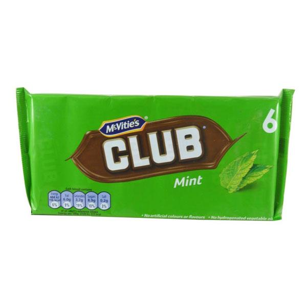 McVitie's Club Biscuits – Mint