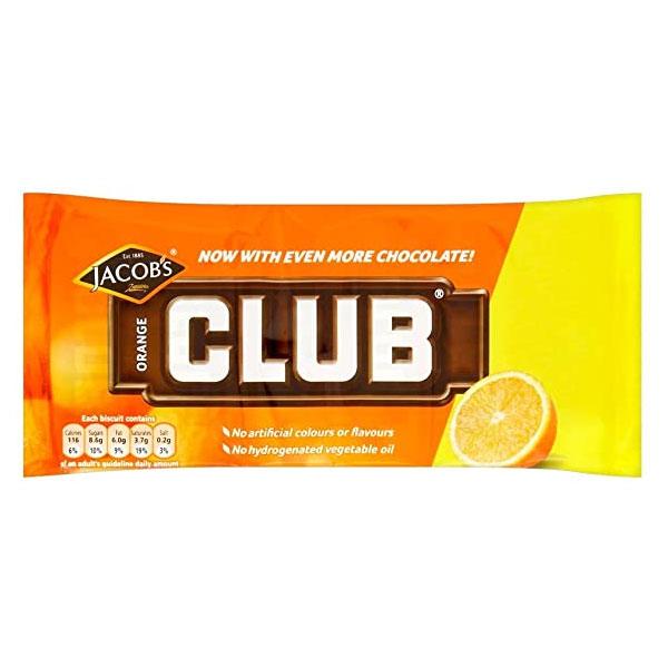 McVitie's Club Biscuits – Orange