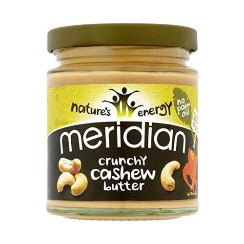 Meridian Crunchy Cashew Nut Butter