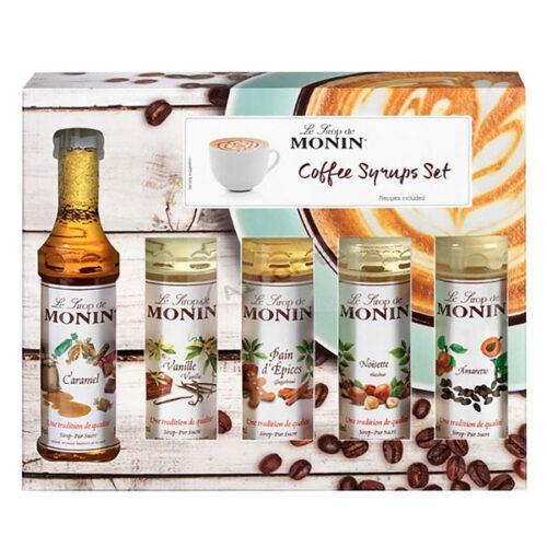 Monin Coffee Syrups Set