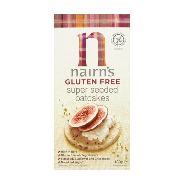 Nairn's Super Seeded Oatcakes – Gluten Free