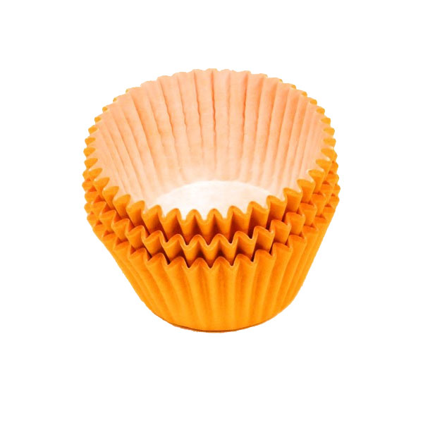 Orange Muffin Cases 36