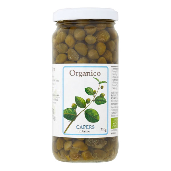 Organico Capers in Brine