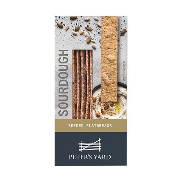 Peter's Yard Sourdough Seeded Flatbreads