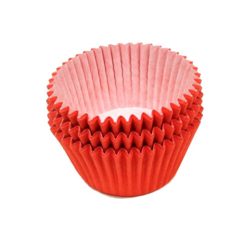 Red Muffin Cases 36