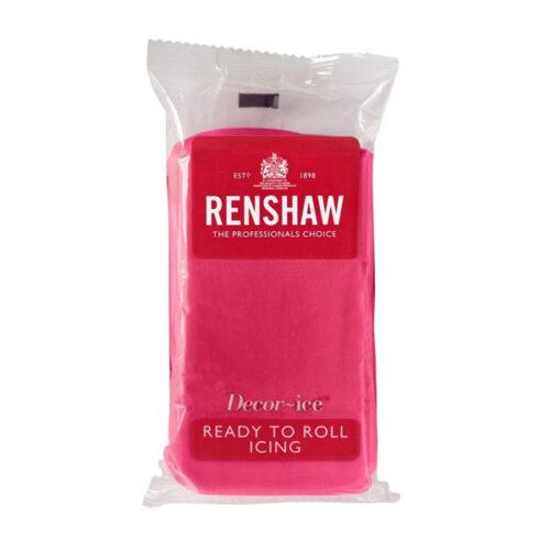Renshaw Ready to Roll Icing – Fuchsia Pink