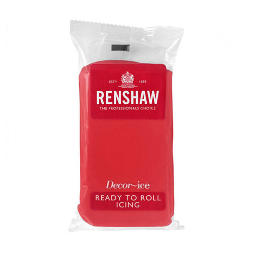 Renshaw Ready to Roll Icing – Poppy Red