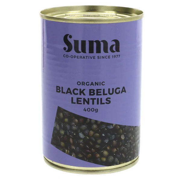 Suma - Organic Black Beluga Lentils