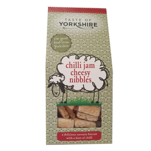 Taste of Yorkshire - Chilli Jam Cheesy Nibbles