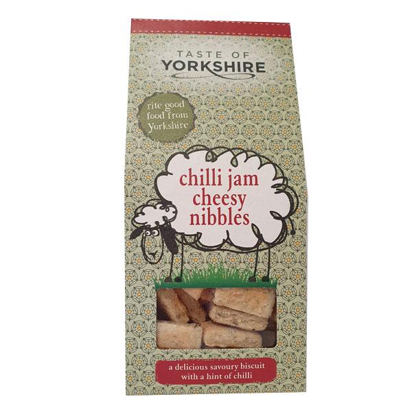 Taste of Yorkshire - Chilli Jam Cheesy Nibbles