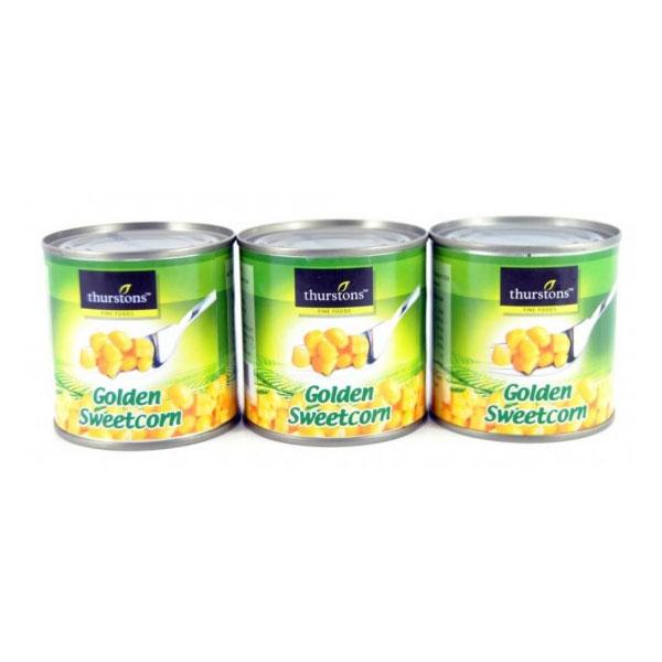 Thurstons Golden Sweetcorn 3 Pack