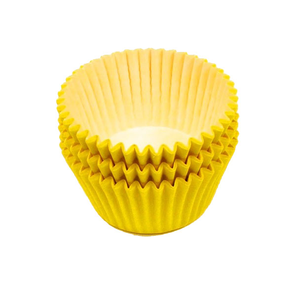 Yellow Muffin Cases 36
