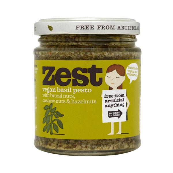 Zest Vegan Basil Pesto