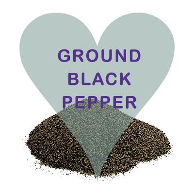Ground Black Pepper