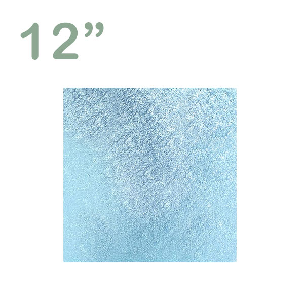 """Square Cake Drum 12"""" Sky Blue"""