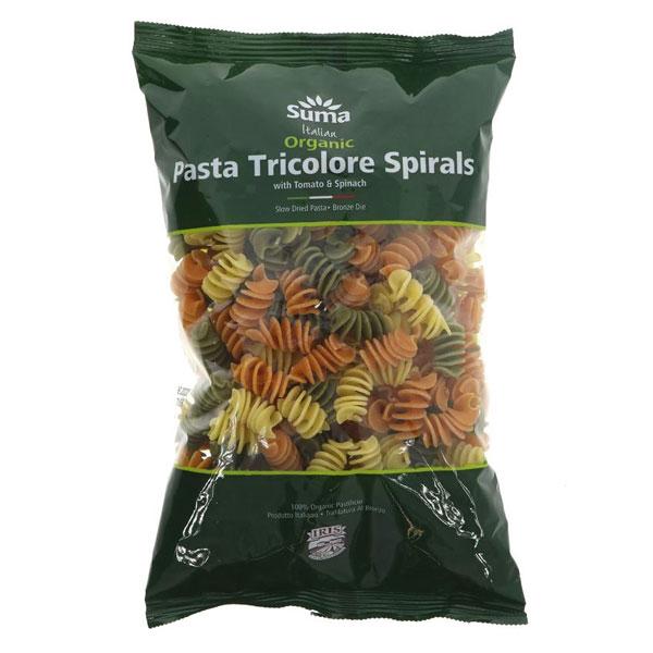 Suma Organic Italian Tricolore Spirals
