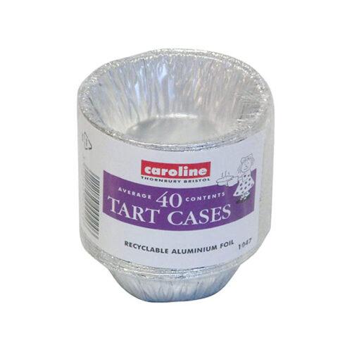 Caroline - 1047 - 40 Foil Tart Cases Small