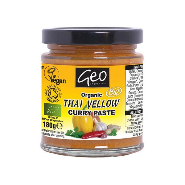 Geo Organic Thai Yellow Curry Paste