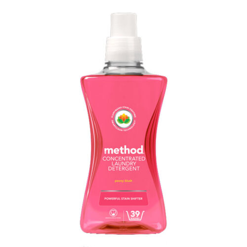 Method Concentrated Laundry Detergent Peony Blush.