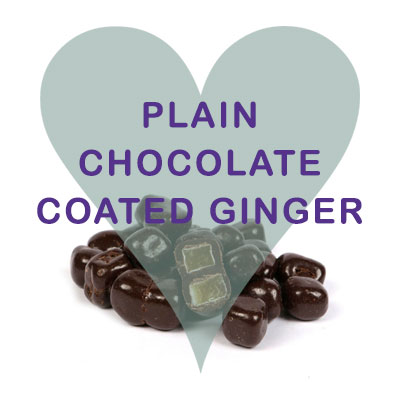 Plain Chocolate Coated Ginger
