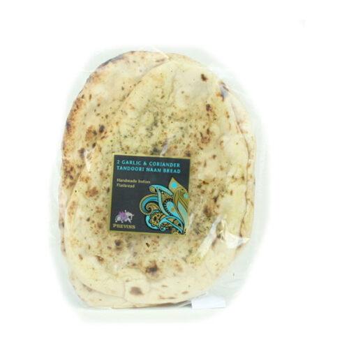 Previns Garlic & Coriander Naan Bread