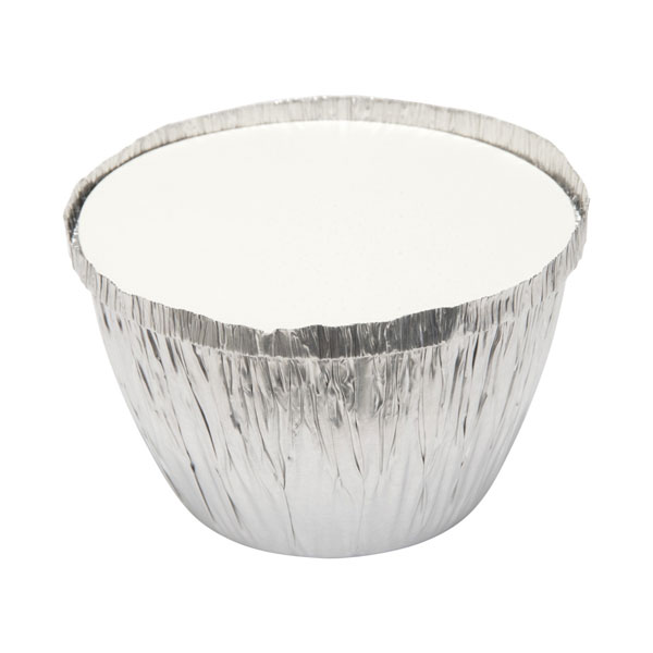 Round Foil Pudding Basin 2lb with Lid