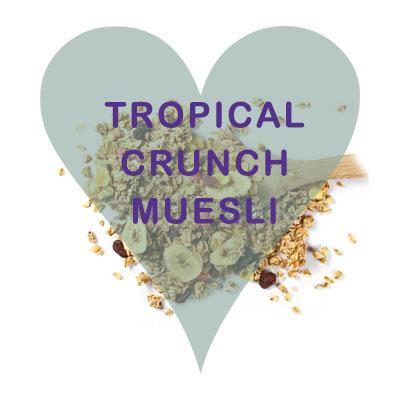 Scoops Tropical Crunch Muesli