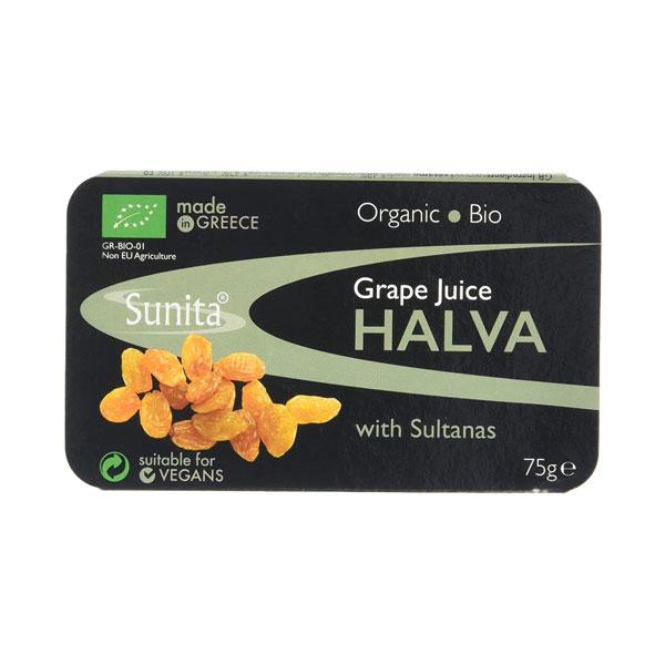 Sunita – Organic Grape Juice Halva with Sultanas