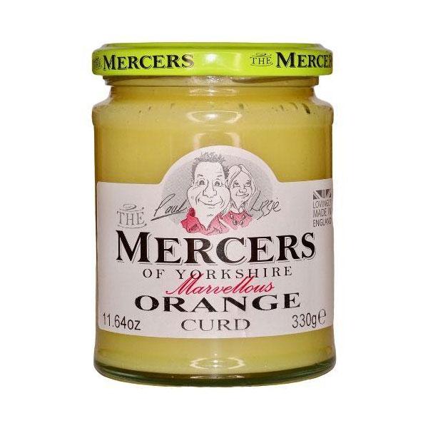 The Mercers Of Yorkshire Orange Curd