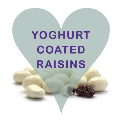 Yoghurt Coated Raisins