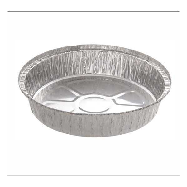Round Foil Pie Tray Fluted