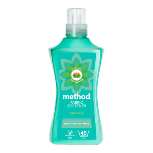 method fabric softener tropical coconut