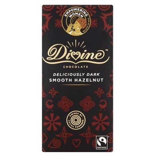 Divine Chocolate- Deliciously Dark Smooth Hazelnut
